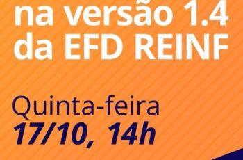 LIVE – EFD-REINF versão 1.4 – COMO FICAM AS RETENÇÕES
