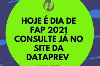 HOJE É DIA DE FAP